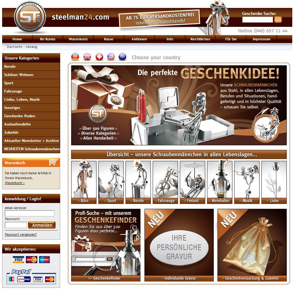 Steelman24.com Gutschein
