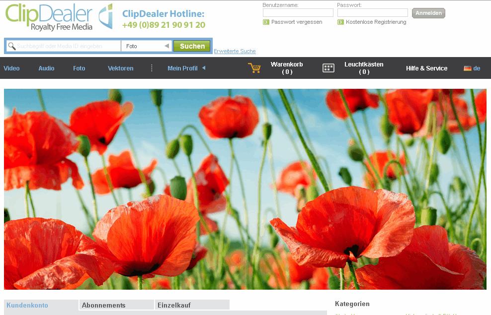 ClipDealer Gutschein