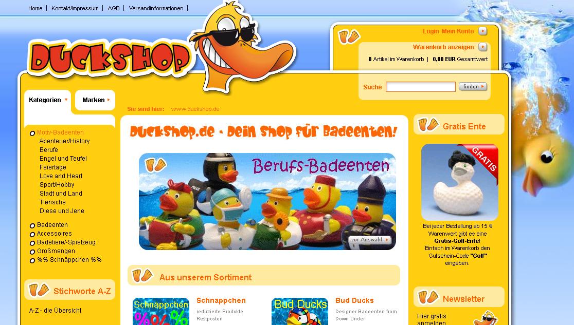 duckshop.de Gutschein