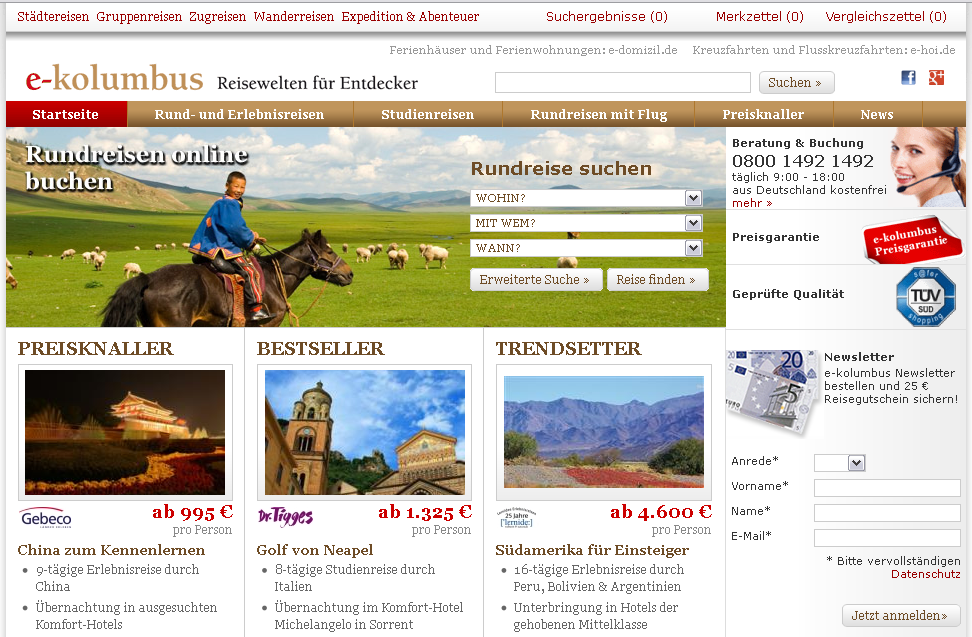 e-kolumbus.de Gutschein