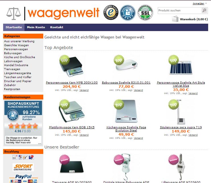 waagenwelt.com Gutschein