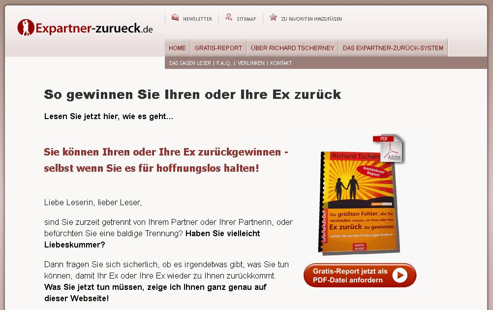 Expartner-zurueck.de Gutschein