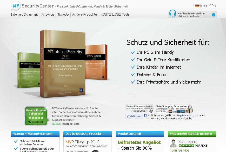 MySecurityCenter Gutschein