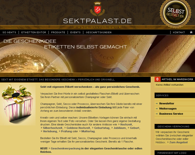 sektpalast.de Gutschein