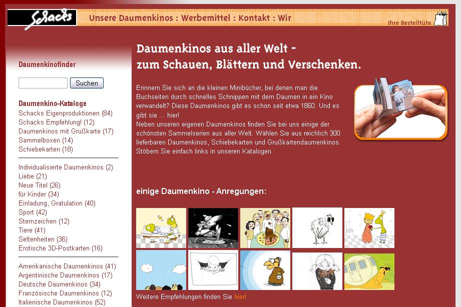 Schacks Daumenkino Gutschein