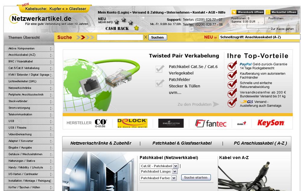 Netzwerkartikel.de Gutschein