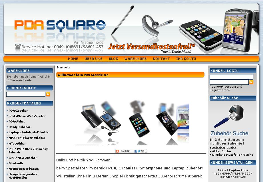 PDA Square Gutschein