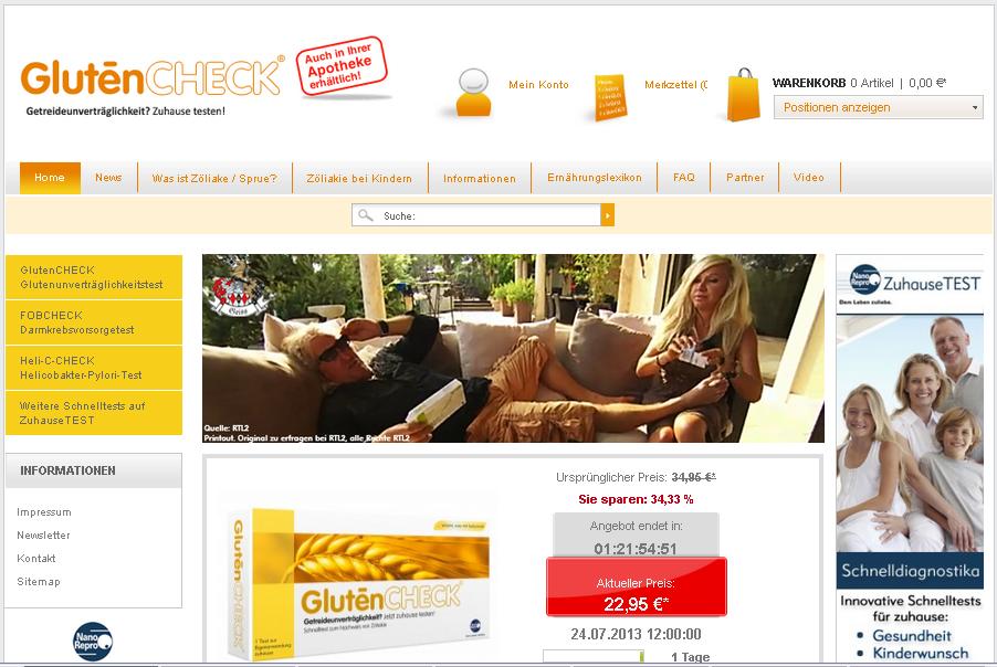GlutenCheck Gutschein