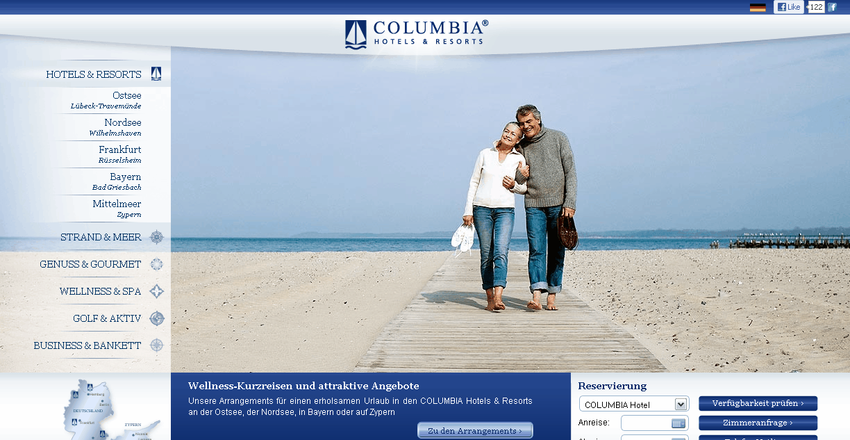 Columbia Hotels & Resort Gutschein
