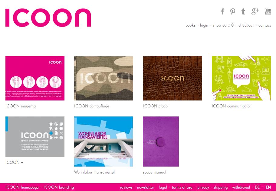 ICOON Online-Shop Gutschein
