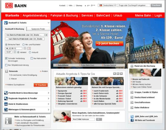 DB Deutsche Bahn - BahnCard Gutschein