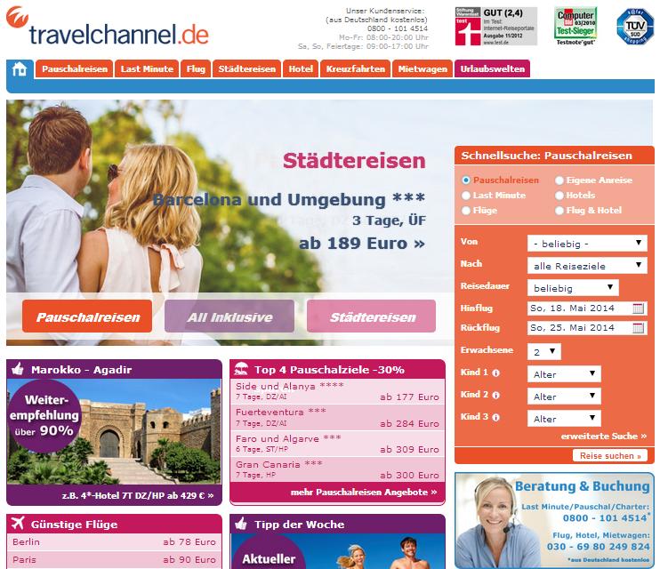 Travelchannel Gutschein