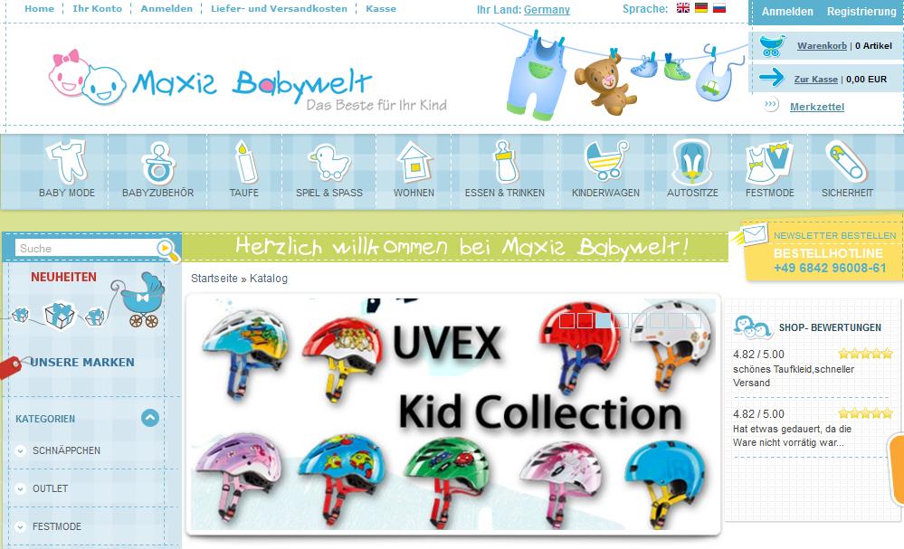 Maxis Babywelt Gutschein