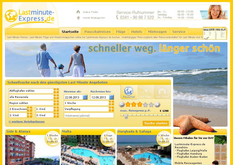 Lastminute-Express.de Gutschein