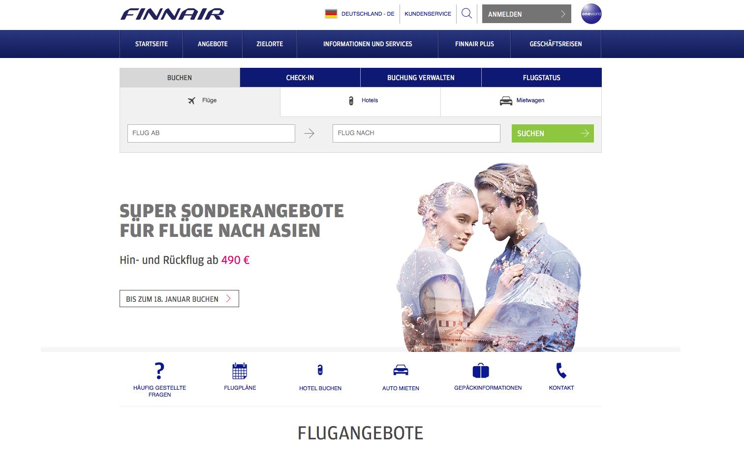 Finnair Gutschein