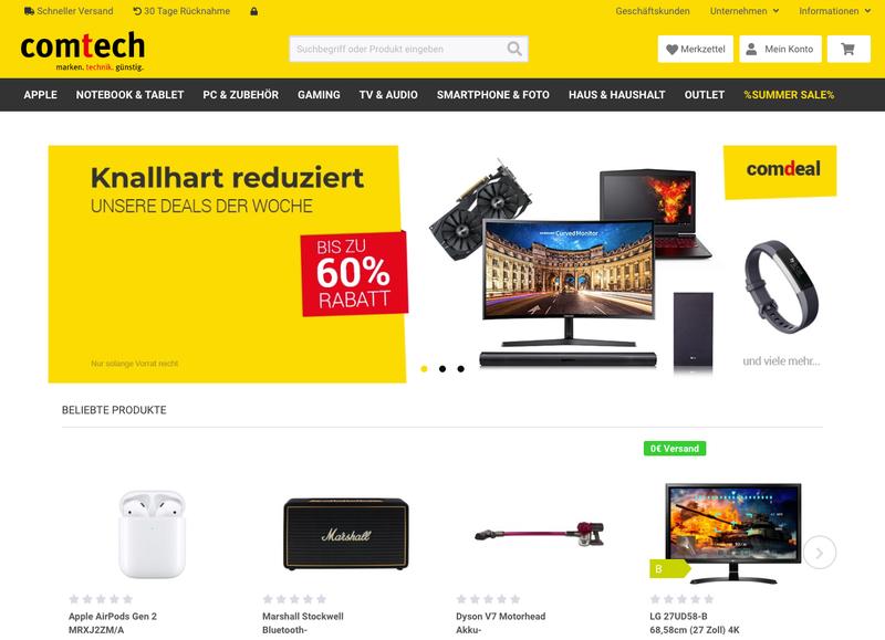 comtech.de Gutschein