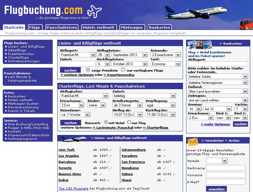 Flugbuchung.com Gutschein