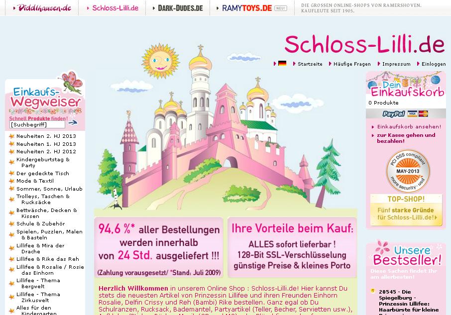 Schloss Lilli Gutschein