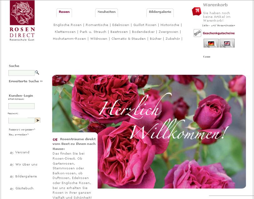 rosen-direct.de Gutschein