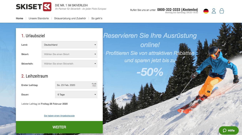 Skiset Gutschein