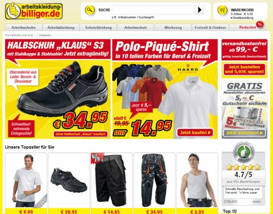 arbeitskleidung-billiger.de Gutschein