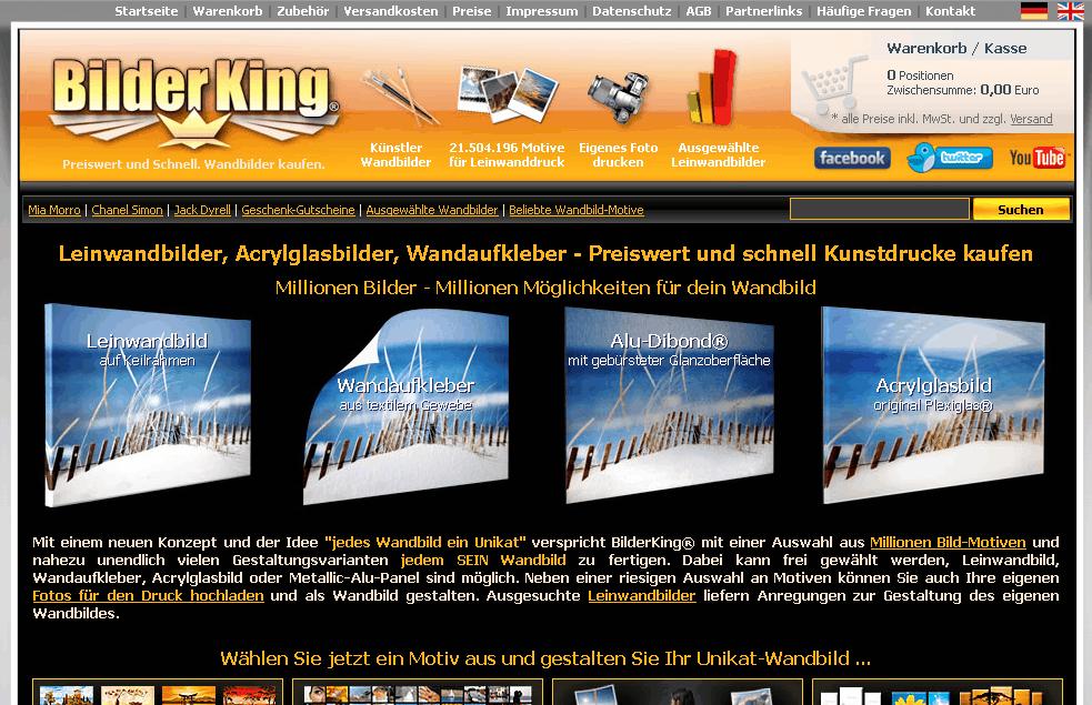 BilderKing.com Gutschein