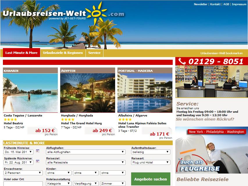 Urlaubsreisen-Welt Gutschein