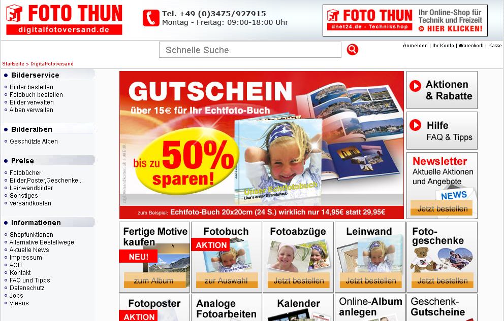 digitalfotoversand.de Gutschein