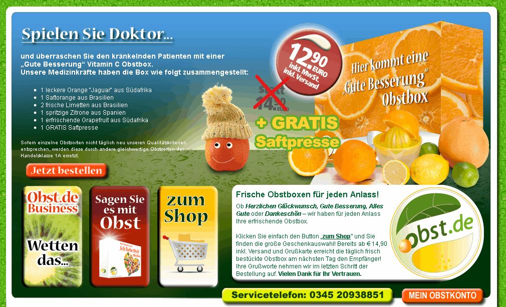 Obst.de Gutschein