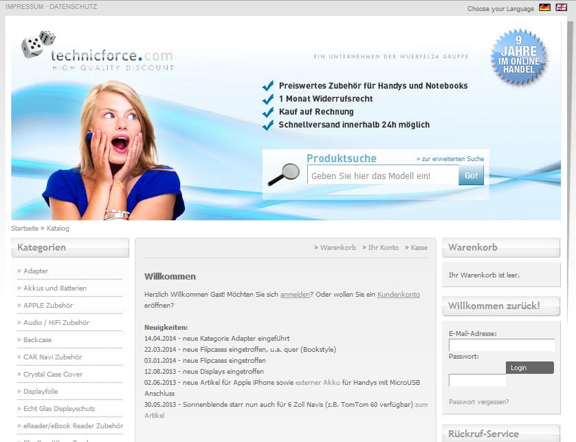 technicforce.com Gutschein