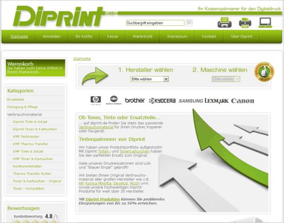 diprint.de Gutschein