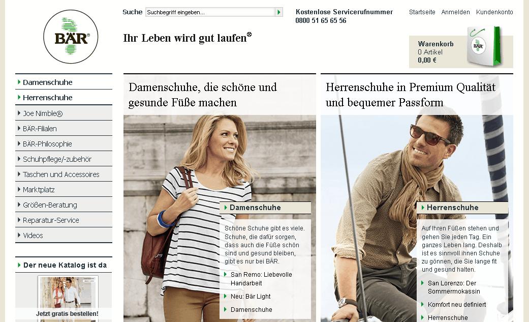 baer-schuhe.de Gutschein