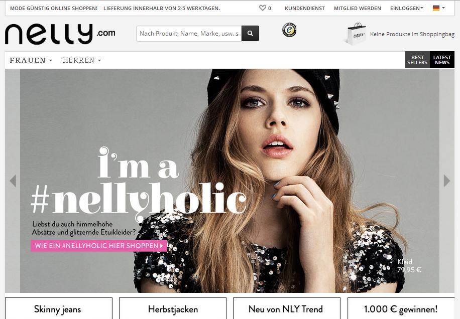 Nelly.com Gutschein