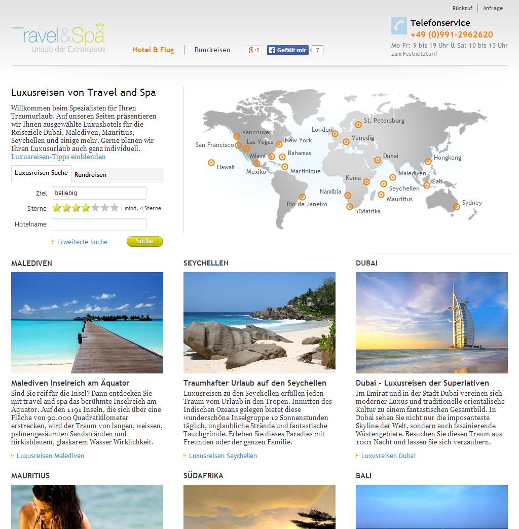 travel-and-spa.de Gutschein