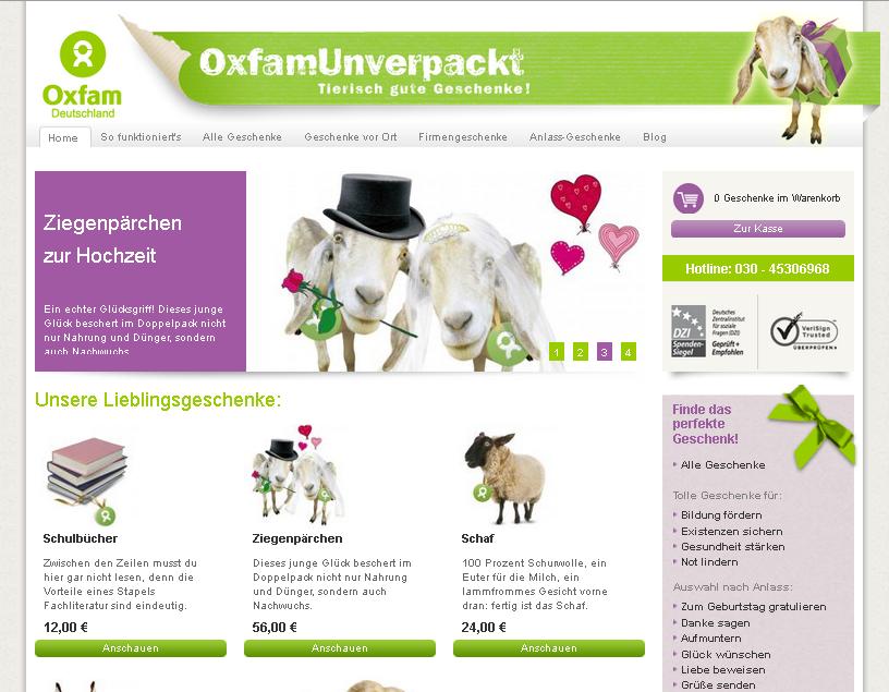OxfamUnverpackt Gutschein
