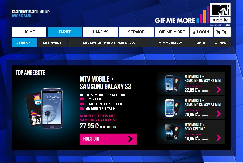 MTV Mobile Gutschein