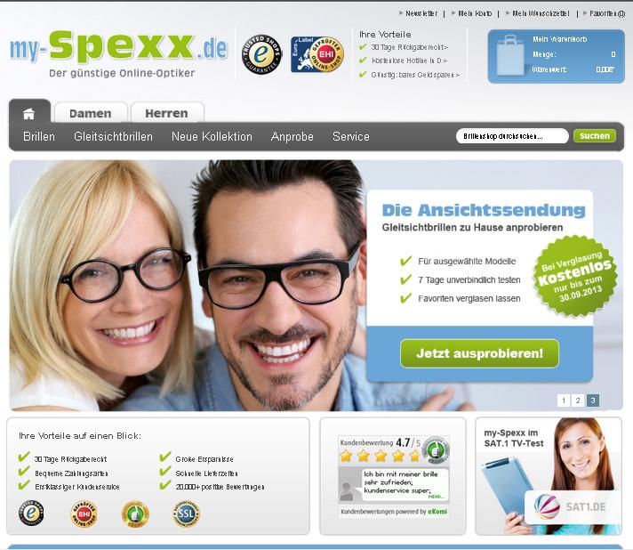 my-Spexx Gutschein