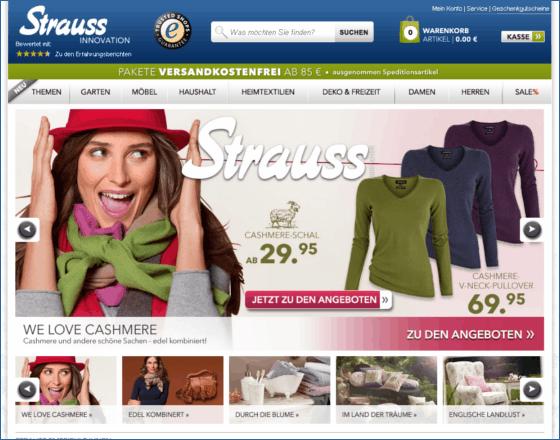 Strauss-Innovation Gutschein