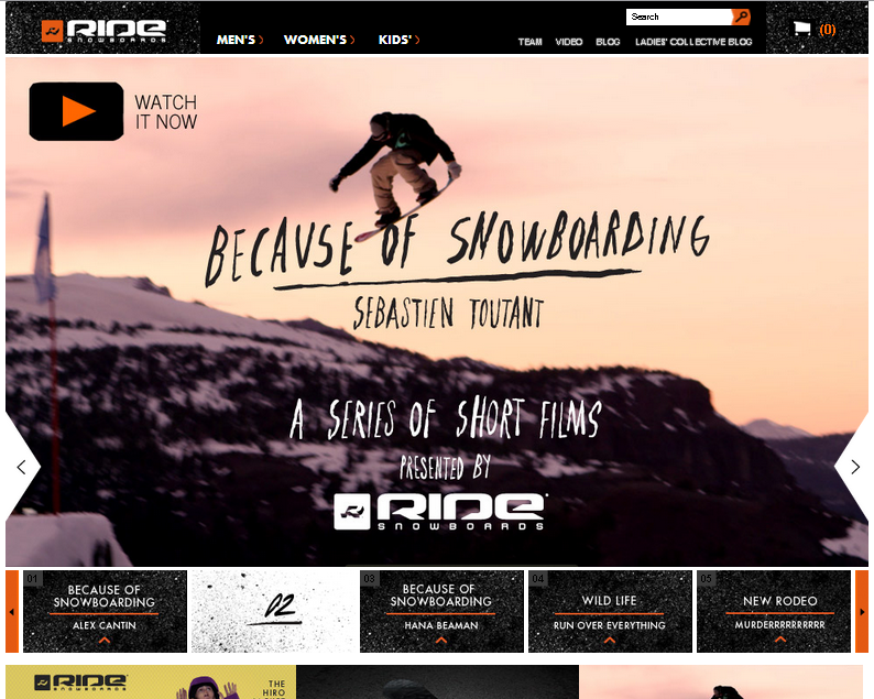 Ride Snowboards DE Gutschein