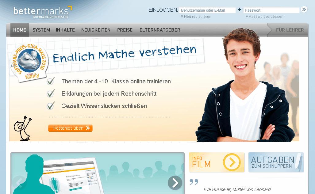 bettermarks Gutschein