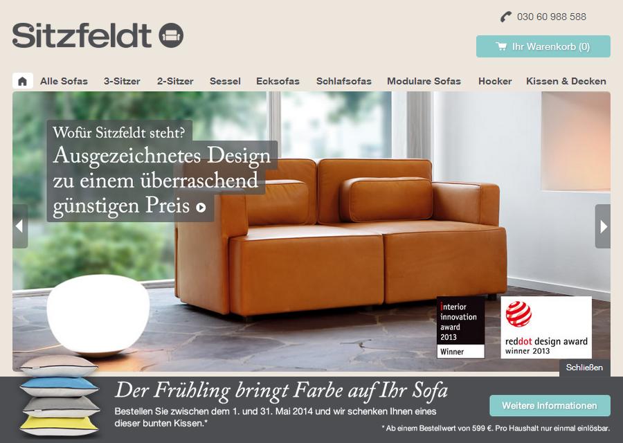 Sitzfeldt.com Gutschein