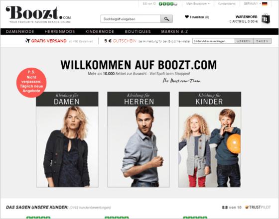 Boozt.com Gutschein