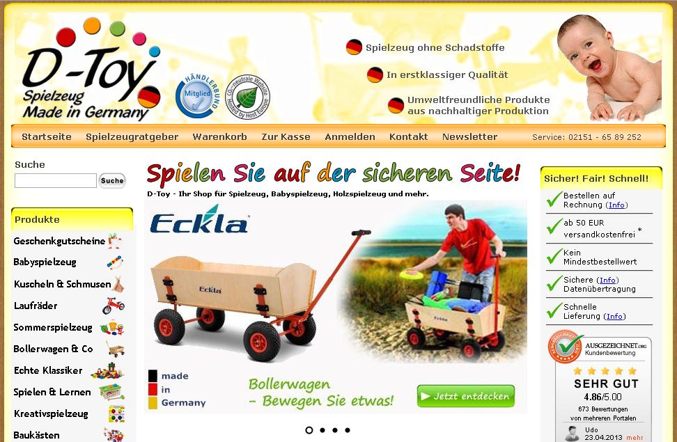 d-toy.de Gutschein