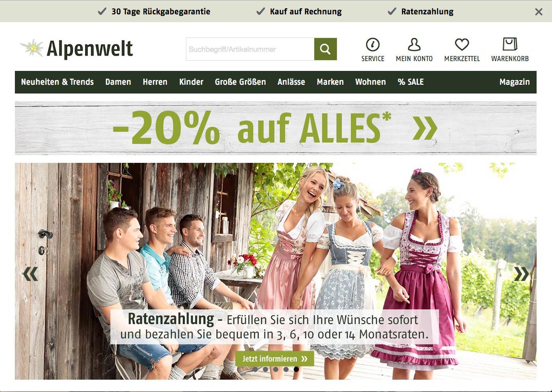 Alpenwelt-Versand Gutschein