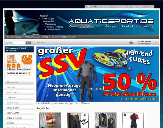 AquaticSport.de Gutschein