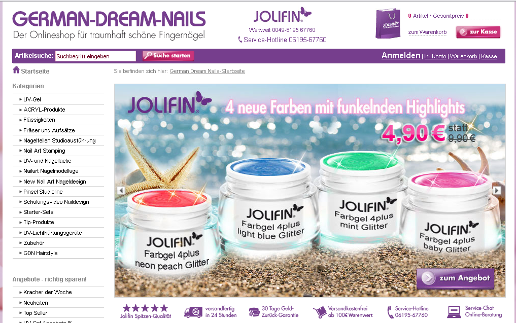 German Dream Nails Gutschein