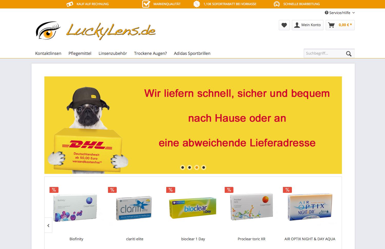 LuckyLens.de Gutschein