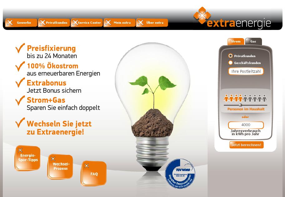 Extraenergie.com Gutschein