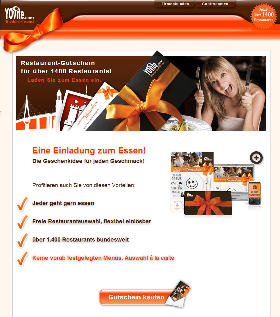 Yovite.com Gutschein