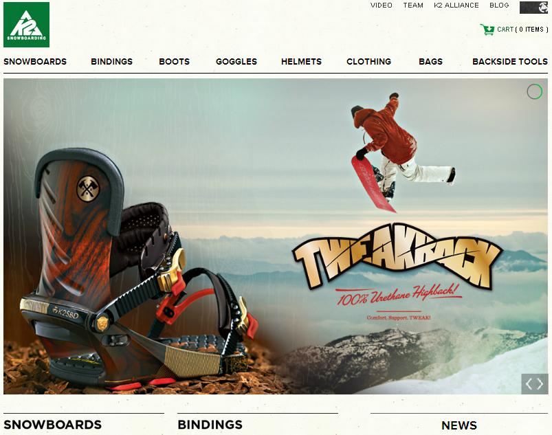 K2 Snowboarding Gutschein